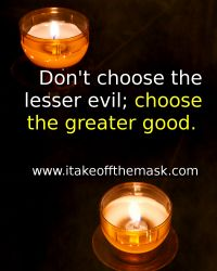 Choose Goodness