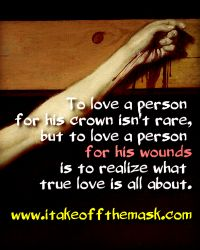 Loving His Wounds