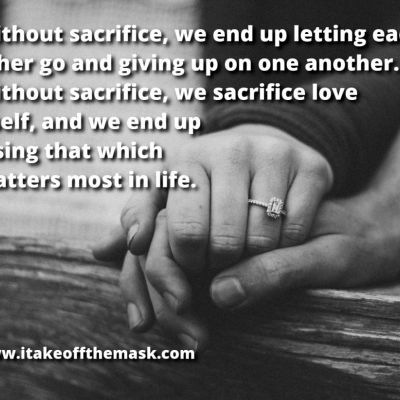 Sacrifice and Love