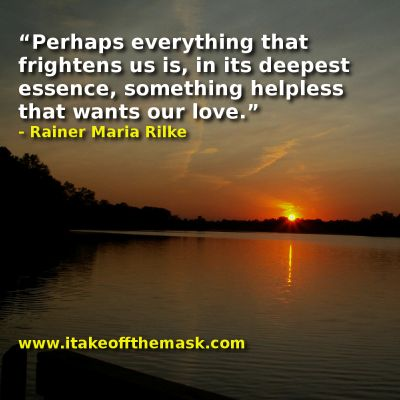 What Frightens Us