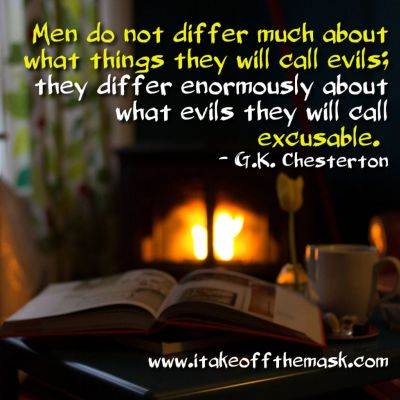 Excusable Evil?
