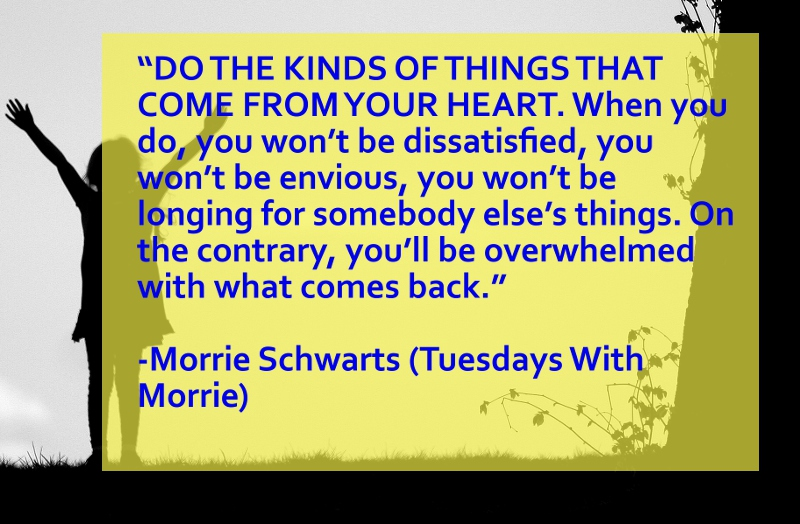 tuesdays with morrie essay question