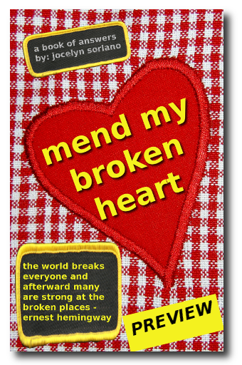Mend My Broken Heart Book