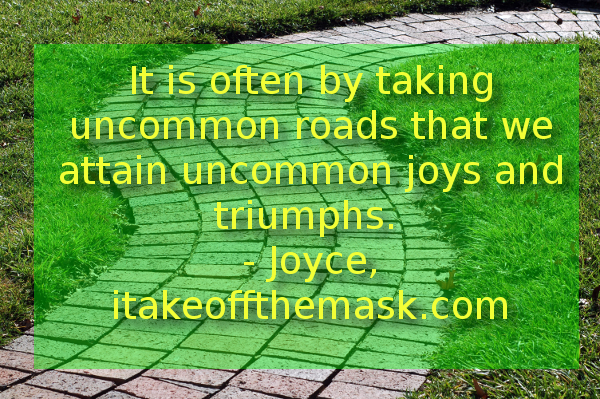 uncommon roads quote