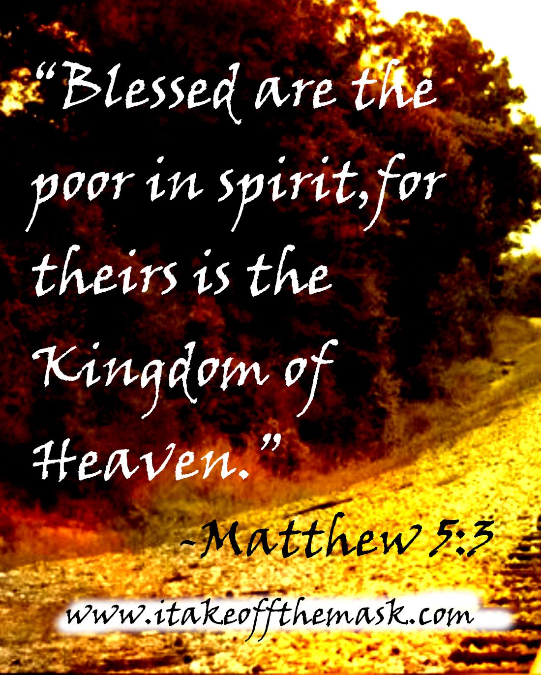 Blessed Are The Poor In Spirit