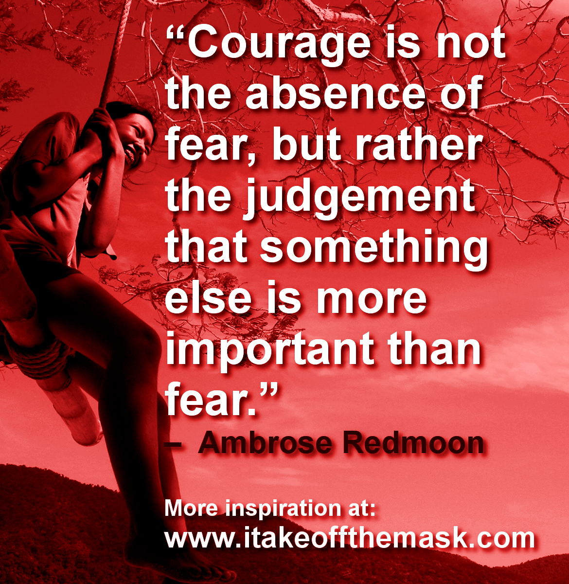 The Courage That Overcomes Fear