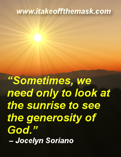 The Generosity of God