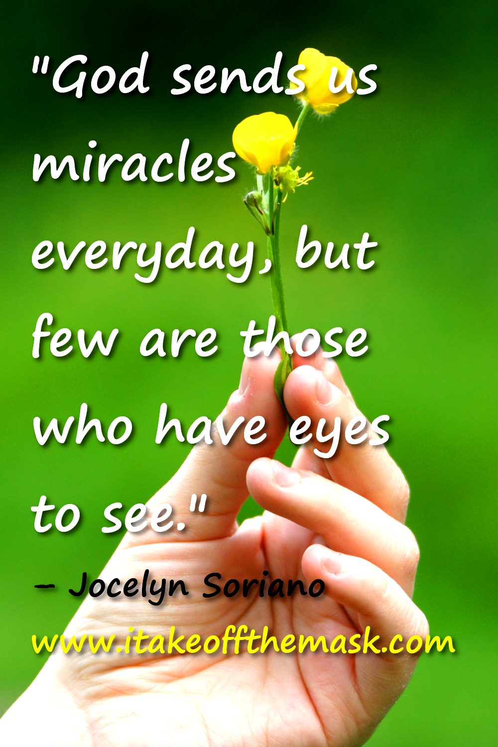 When Everyday is a Miracle