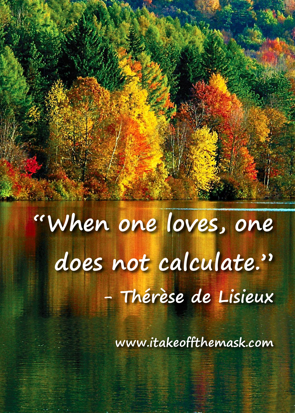 Love Does Not Calculate