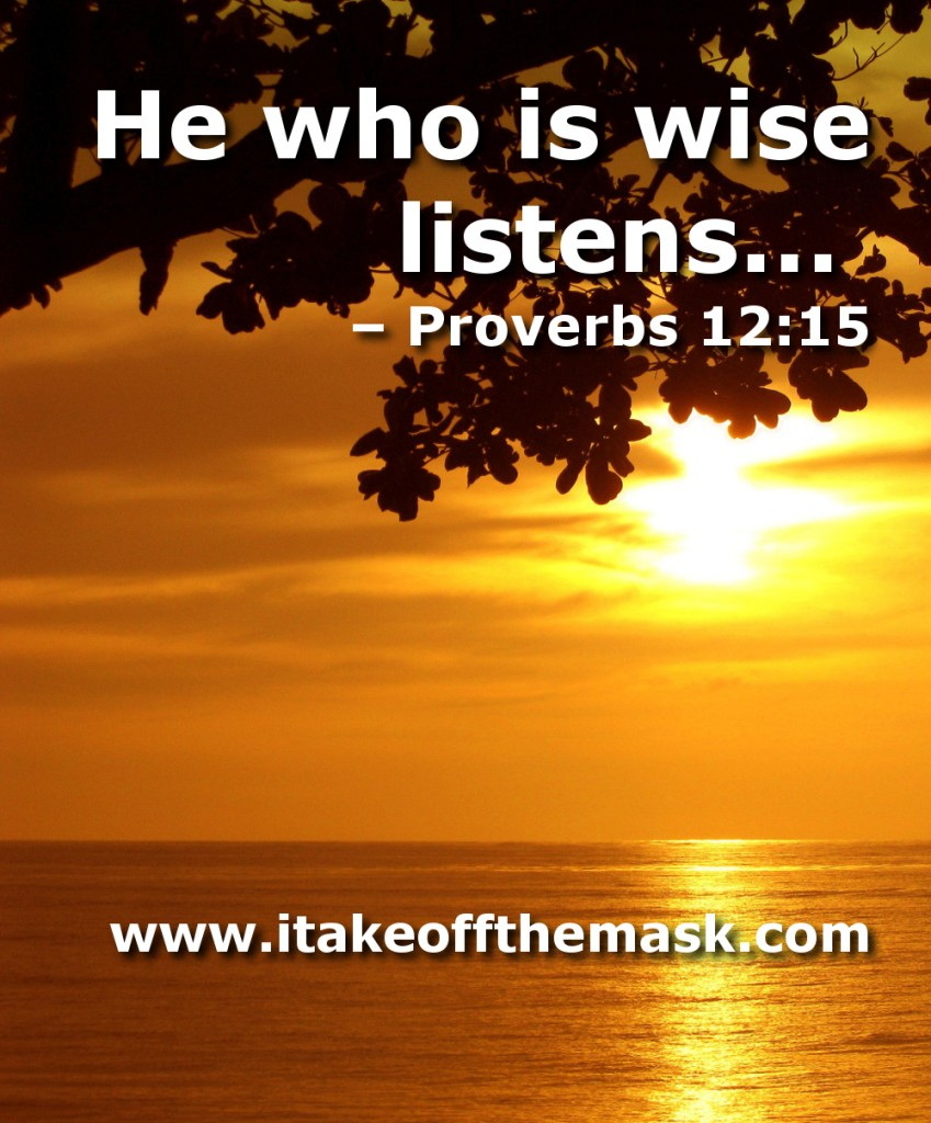 How To Quote The Bible: Biblical Quotes On Listening. QuotesGram