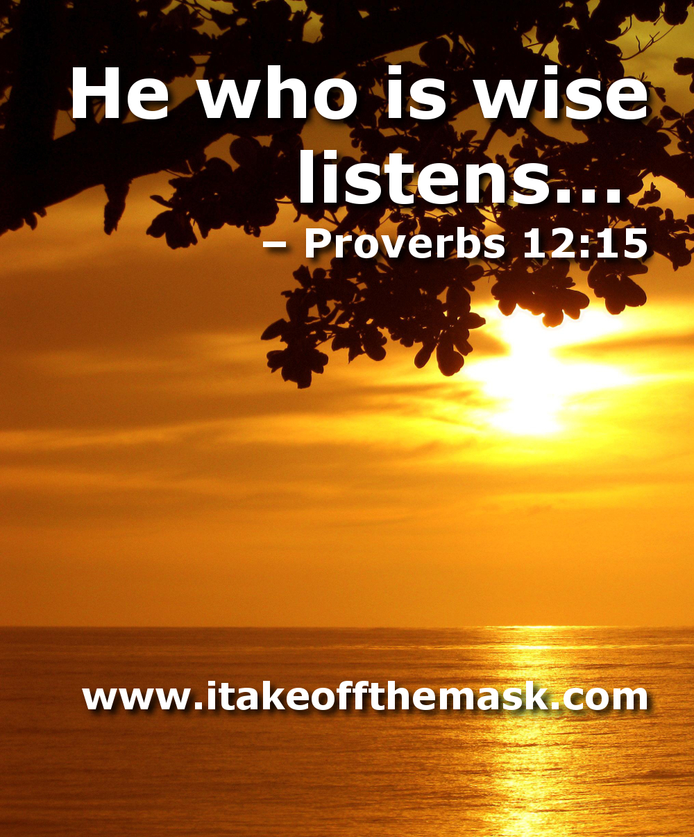 Wise Life Quotes Bible Verses On Listening  Best Life Quotes Poems Prayers