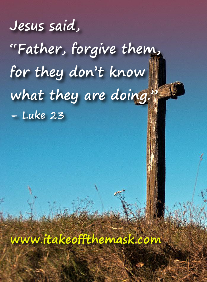 Forgiving Those Who Do Not Know