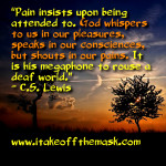 What Suffering Tells Us