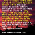 Our Spiritual Battle