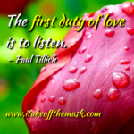 Listen With Your Heart