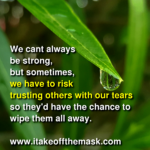 The Tears We Hide