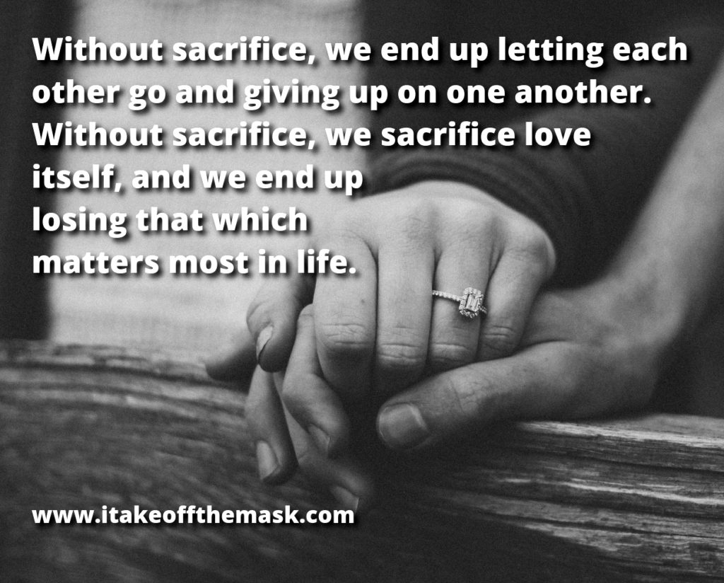 sacrifice and love best life quotes poems prayers words of