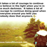 Fight With Courage