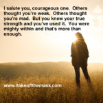 The Courageous Ones
